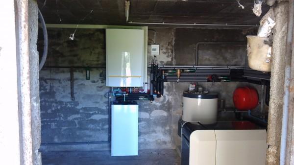 Pompe chaleur chaudi re condensation fioul et gaz for Climatisation d interieur